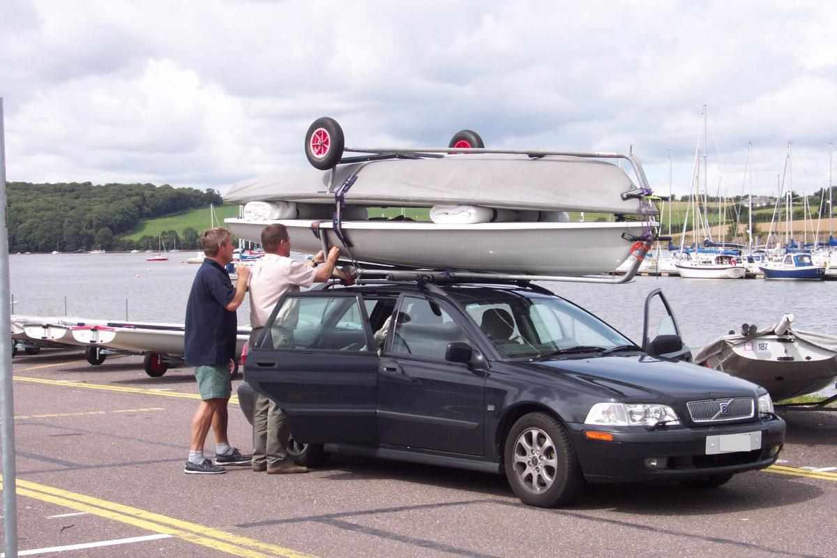 Laser Sailboat Roof Rack Cosmecol