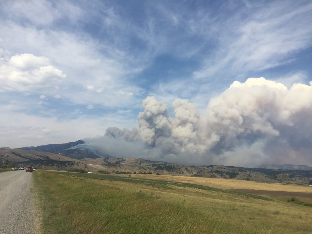 Bridger Foothills Fire from Fort Ellis Road (5-Sept-2020).jpg