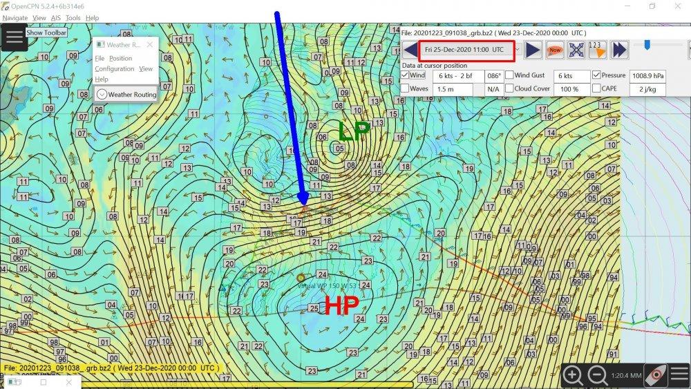 Bestaven projection for Friday 1100 UTC.jpg
