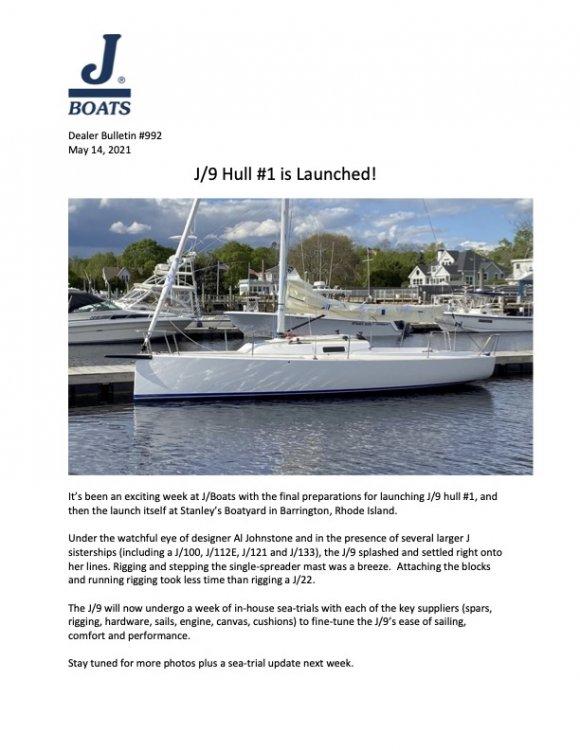 DB #992 J9 May Update - Hull #1 Splashes!.jpg